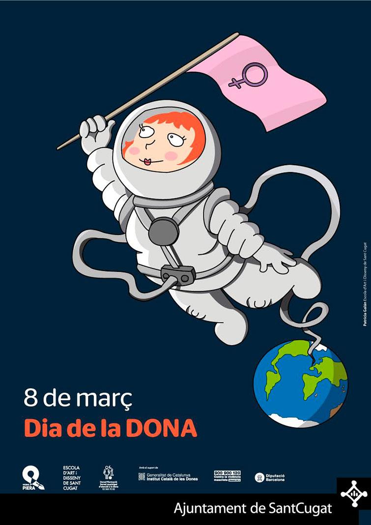 Cartell Guanyador 8 de Març Dia de la Dona 2016