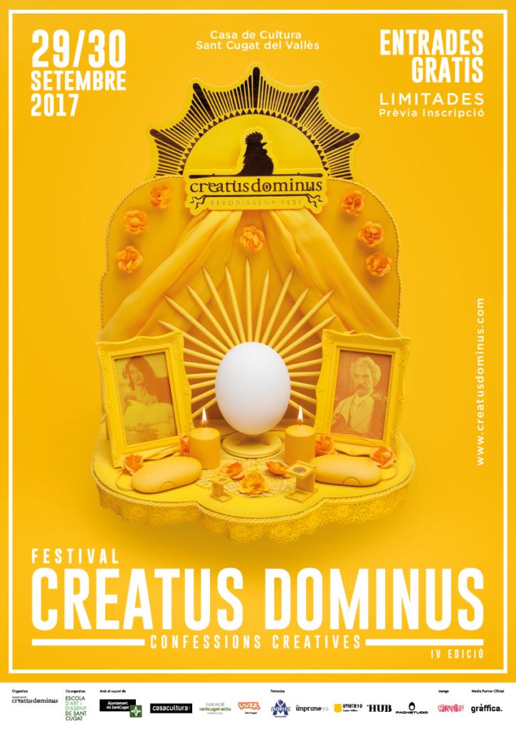 CREATUS DOMINUS 2017 CARTELL A3 CATALÀ