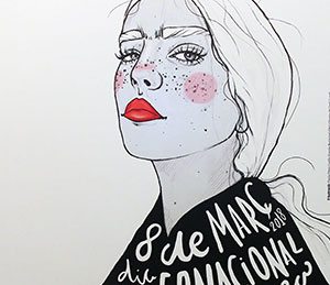 Bases del 8è concurs de cartells del Dia de la dona 2019