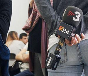 Filmació de TV3 al grup de 2n d'APGI