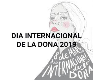 Resultat del concurs de cartells del Dia de la Dona 2019