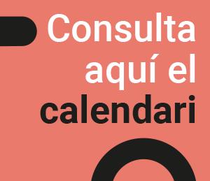 Calendari de la preinscripció al centre, proves d'accés i matrícula curs 2020-2021
